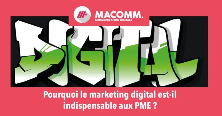 Le marketing digital indispensable aux PME