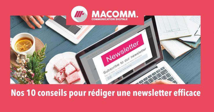 Astuces pour rédiger une newsletter efficace